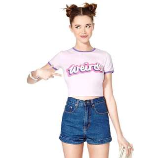 PO - weird pastel cropped top