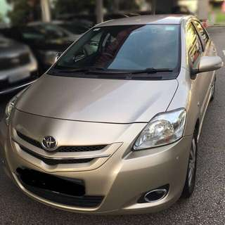 Toyota Vios for Grab Rental
