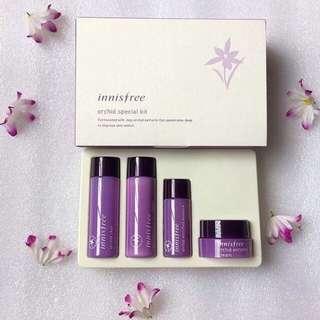 Innisfree Orchid Jeju Special Kit 4