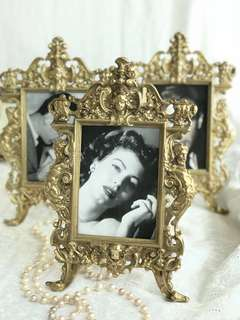 Photo frame Antique Brass from France 🇫🇷