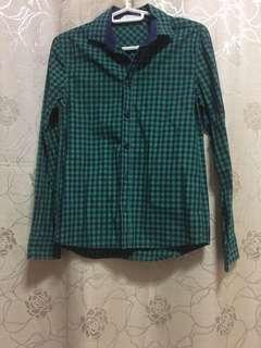 H&M Checkered Polo Shirt