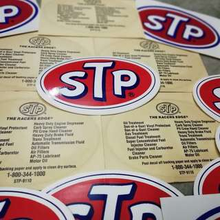 sticker STP original (nos)