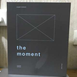 "Supper moment ""the moment"" limited edition 盒"