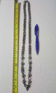 Stainless steel necklace for amulet