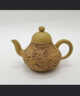 ZiSha teapot, 紫砂壶150cc