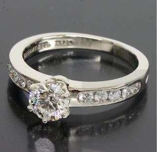 🈹️私人放,正版Tiffany鑽石戒指 共60份 原價$3x x x x平售$10800