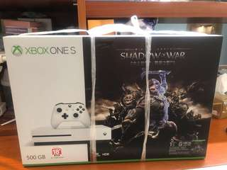 全新未開封XBOX ONE S