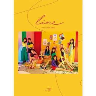 [PREORDER] 유니티 (UNI.T) - LINE (1ST Mini Album)
