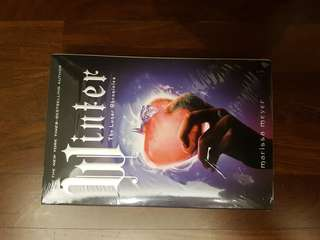 Winter..4th book of Lunar chronicles. Author: Marissa Meyer.
