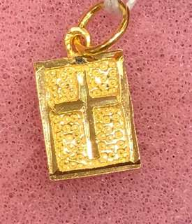 Gold 916 - Cross Pendent ❤️❤️