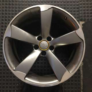"Pre-owned 19"" Original Audi S-line Gun Metal Rims"