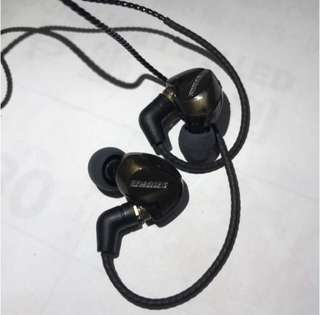 DIY 自組金色耳機 跟一條線 可換線耳機 非原裝Shure 耳殻