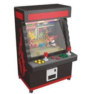 Nanoblock Mini Arcade Street Fighter Game Machine Preorder