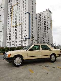 Mercedes Benz W 201 190 e 2.0 th 85 AT