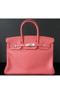 Authentic Hermès Birkin 35 Bougainvillea