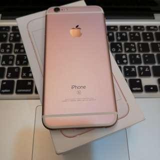 【售】iPhone 6S 64G 玫瑰金
