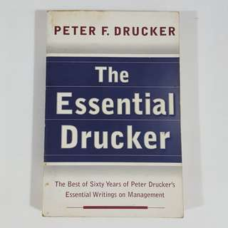 The Essential Drucker by Peter F. Drucker