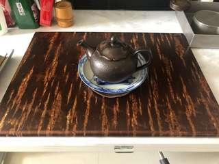 日本回流櫻皮細工花檯茶檯