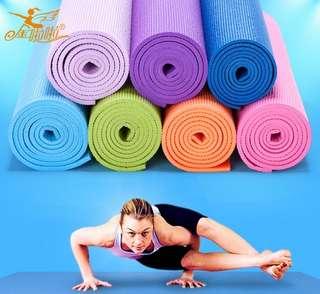Matras Yoga matras olahraga matras 6mm matras tebal