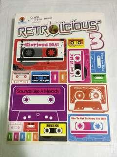 Retrolicious 3 CD compilation
