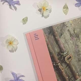 BTS YNWA album ( Right/Pink Version )
