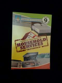 Technology and Livelihood Education Household Services TLE book 9