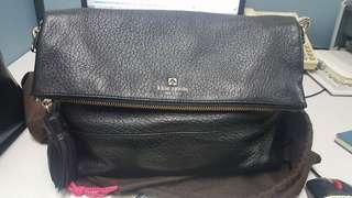 Black 2way bag, cross body/hand bag