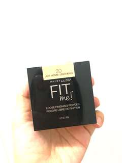 Maubelline FIT ME LOOSING POWDER
