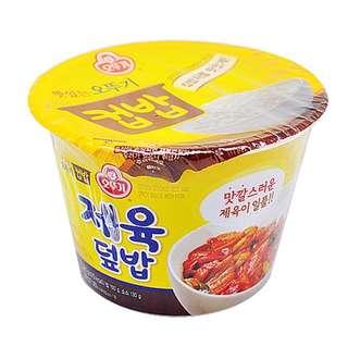 韓國 辣炒豬肉蓋杯飯