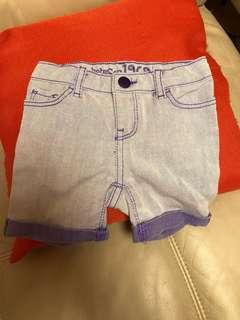 BabyGap purple short (12-18 months) adjustable waist