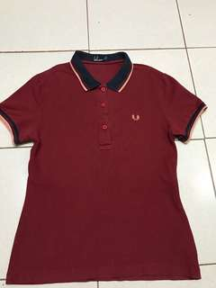 FRED PERRY POLO SHIRT FOR HER