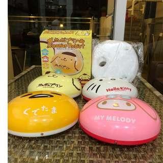 Sanrio Cleaner Robots full set plus filter