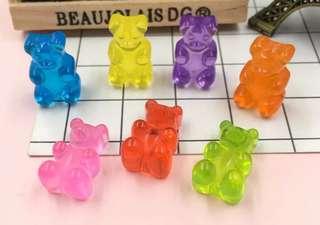 Gummy bear cabochon