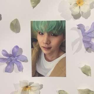 BTS HYYH Peach Suga Photocard