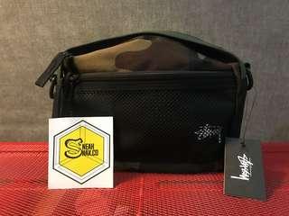 Stussy stock pouch bag Woodland camo