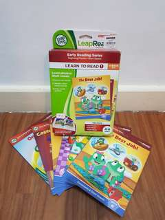 Leap Reader Set of 6 Books