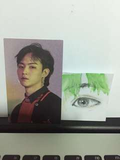 GOT7 EYES ON YOU - JB PURPLE PHOTOCARD