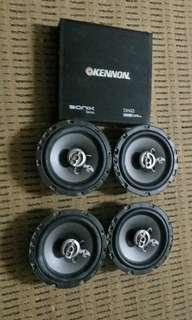 mohawk 6.5 inch speaker + 2ch amp kennon