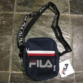 INSTOCKS SS18 Navy FILA Shoulder Bag
