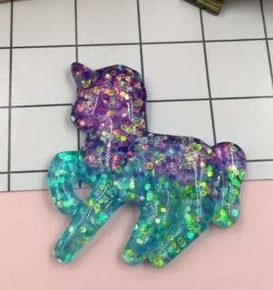 Unicorn cabochon