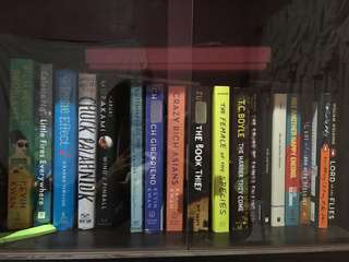 Fiction Books (Murakami John Green Kwan etc)