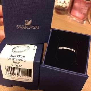 Swarovski Ring戒指 線戒 Size55