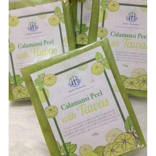 Buy1 Get1 Calamansi Lemon Orange  Tomato GlutaBleach Soap
