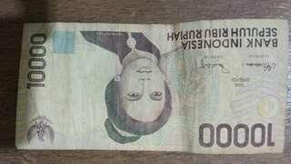 Uang Rupiah 10ribu