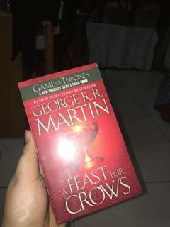 Game of Thrones book Four : a Feast for Crows