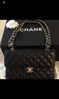 Chanel classic flap bag23/25cm