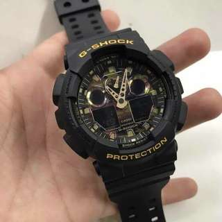 GSHOCK CAMOUFLAGE BLACK WATCH