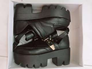 Chunky Platform Black Punk Shoes