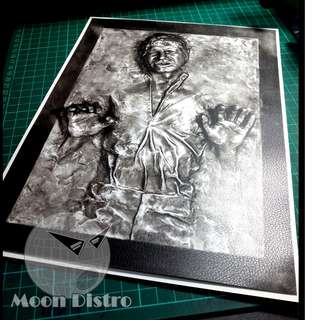 Star Wars PVC Stickers - Leather (Han Solo Carbonite)