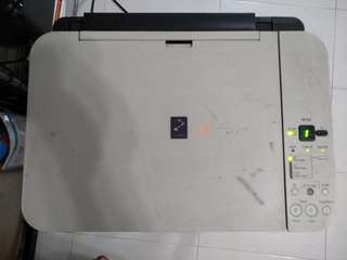 Pixma printer mp258 no ink